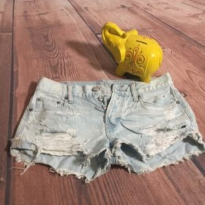 American Eagle Outfitters Tomgirl Shortie Shorts